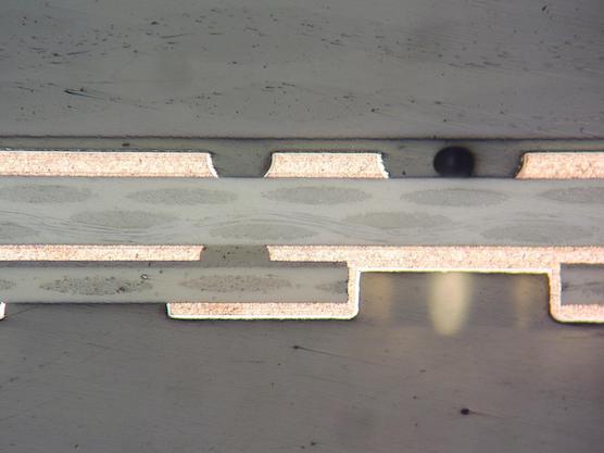 特殊3層基板断面