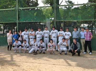 軟式野球大会 久宝寺緑地 軟式野球場 (美原工場)