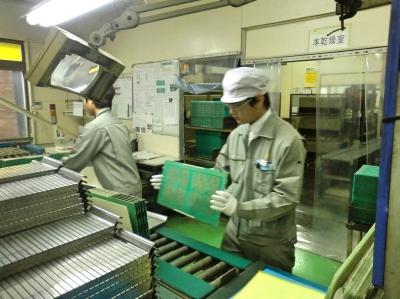 2012年 高校生 インターンシップ (大阪工場)