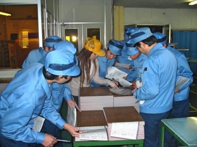 職場見学会 (東海工場)