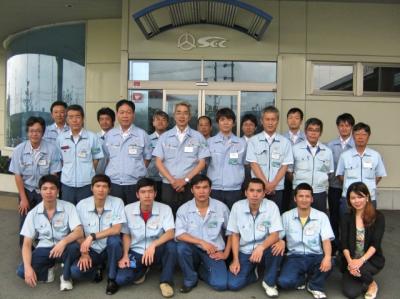 第7次ベトナム技能実習生 修了式