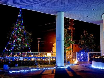 クリスマスイルミネ-ション (東海工場)