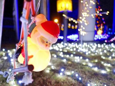 クリスマスイルミネーション(東海工場)